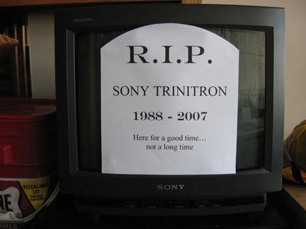 Poor Dead Sony