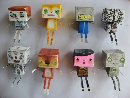 gabe's blockheads front view