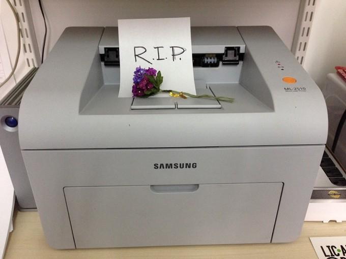 RIP printer